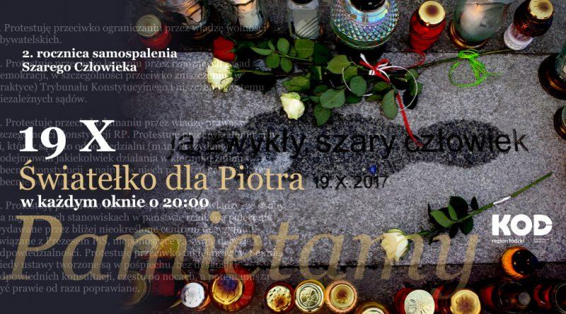 Pamiętamy, Piotrze…