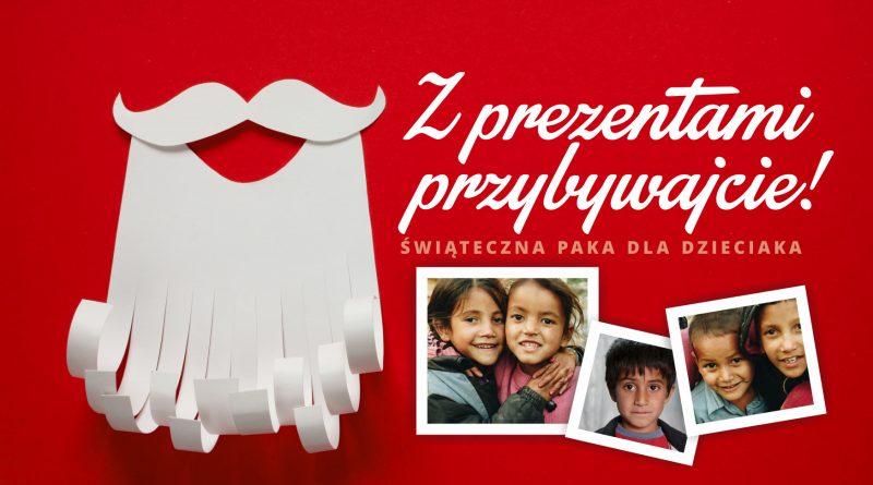 27.11 – 18.12   Z prezentami przybywajcie, czyli zbiórka prezentów i darów dla uchodźcow zam. w  Grotnikach